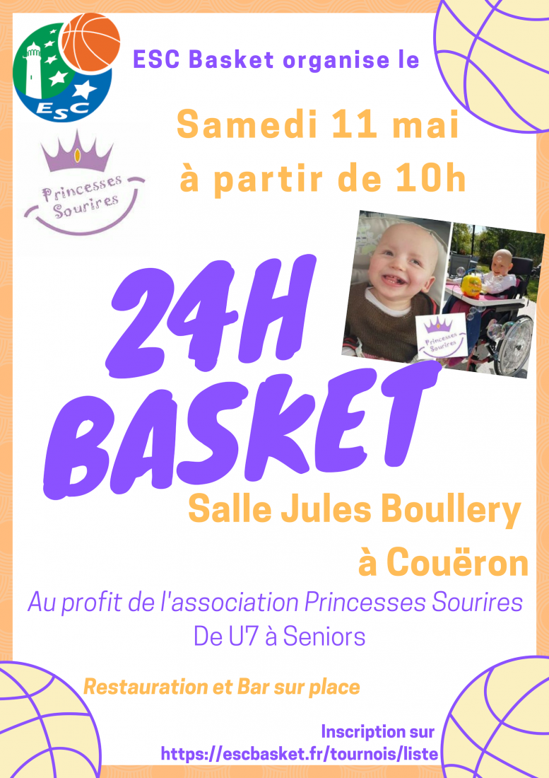 24H Basket - Princesses Sourires